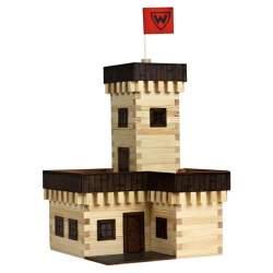 Walachia Castillo de verano W29 en madera para construir
