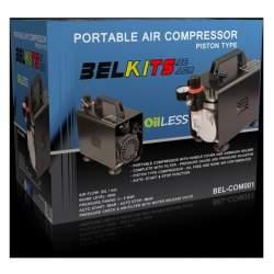 Compresor de aire portátil para aerografia - Bel air