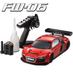 Coche KYOSHO - FW06 AUDI R8 LMS ROUGE READYSET (KT231P/GXR15) 33205B rc explosion (CONSULTAR DISPONIBILIDAD)