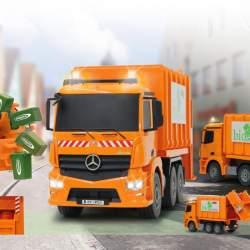 Camión de la basura Mercedes Antos 1:20 2,4GHz Jamara