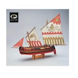 Maqueta Barco de Madera Trabaccolo Amati Modelismo
