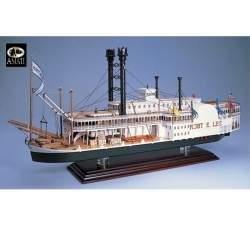 Maqueta barco ROBERT E. LEE 1/150 Amati Modelismo