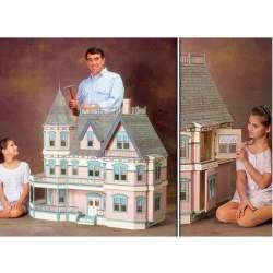 Casa de muñecas Victoriana Ababol en kit (CONSULTAR DISPONIBILIDAD)