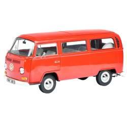 """Autobus Volkswagen VW T2a """"Edition 50 Jahre VW T2 1967-2017"""" Bus, Schuco, rojo, escala 1/18"""