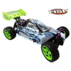 Buggy 1:10 HSP WARHEAD 2.4 GHz+CHISPO+1L