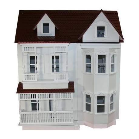 Casa de muñecas Dover 1:12 Old Bridge para montar
