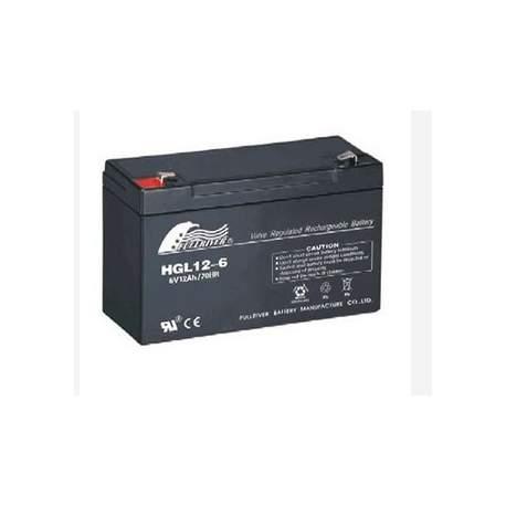 Batería de plomo 6V/12Ah