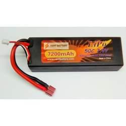 Bateria LIPO 7,4V 7200 MAH 50C Hard Case (CONSULTAR DISPONIBILIDAD)