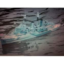Barco H.M.S BELFAST wp - RC Buque M 1: 150