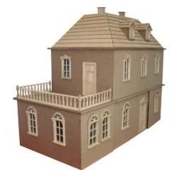 Casa de muñecas Manchester sin pintar
