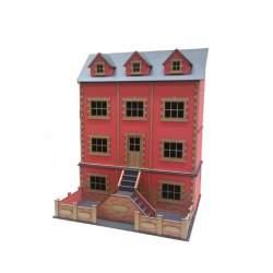 Casa de muñecas Estocolmo kit de montaje disarmodel