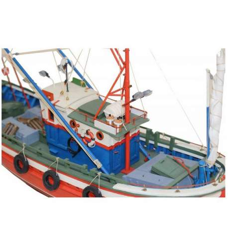 Merlucera del Cantabrico Talhoer, maqueta modelismo naval