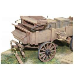 CARRO OLD WEST Diorama Disarmodel