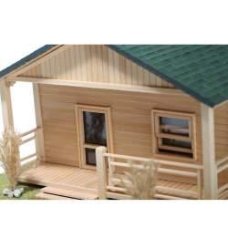 kit cabaña de madera ORLEANS Disarmodel (CONSULTAR DISPONIBILIDAD)