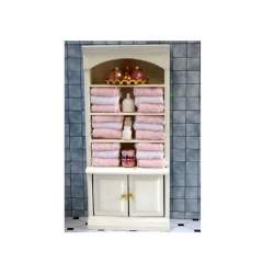 Estanteria de baño para casa de muñecas