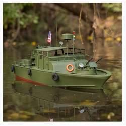 Lancha 21-inch Alpha Patrol Boat rc electrica Proboat (CONSULTAR DISPONIBILIDAD)