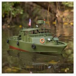 Lancha 21-inch Alpha Patrol Boat rc electrica Proboat