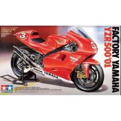 Maqueta moto Tamiya Factory Yamaha YZR 500 2001 1:12