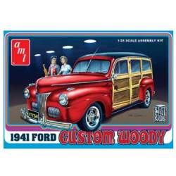 Maqueta Ford Woody 1941 1:25 AMT