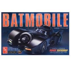 Maqueta Coche Batmobile 1989.Escala 1:25 AMT