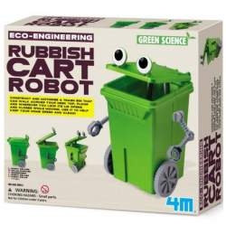 Juego científico Rubbish Cart Robot 4M Green Science