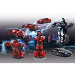 Robot Robicar transformable red rc electrico Jamara