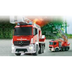 Camion Cuerpo de bomberos 1:20Mercedes Antos2,4G Jamara