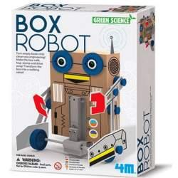 Juego científico 4M Box Robot Green Science