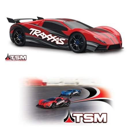Coche RTR XO-1 1:7 rc electrico Supercar MIT TQi Traxxas