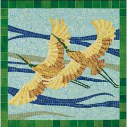 Mosaico en kit aves Aedes Ars