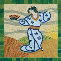 Mosaico en kit Japonesa Aedes Ars