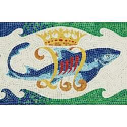 Mosaico en kit Delfín (Gaudí) Aedes Ars
