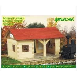 Construccion de madera ESTACION DE FERROCARRIL WALACHIA