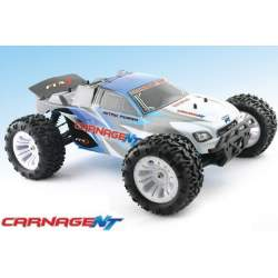 MONSTER TRUCK 1/10 CARNAGE NITRO RTR Rc Explosion FTX