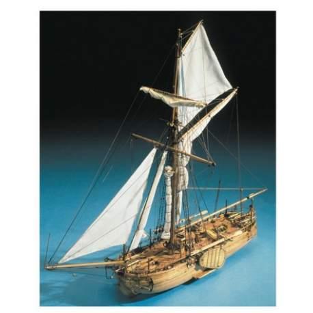 Maqueta Barco Cañonero Holandes Mantua Model