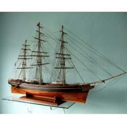 Maqueta naval montada Cutty Sark, artesanal