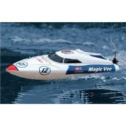 Lancha Magic Vee V4 RTR White 2.4GHz Joysway