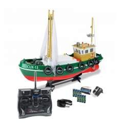 Barco de pesca Cux 13 Rc Electrico 1/24 2.4Ghz 100% RTR Carson (CONSULTAR DISPONIBILIDAD)