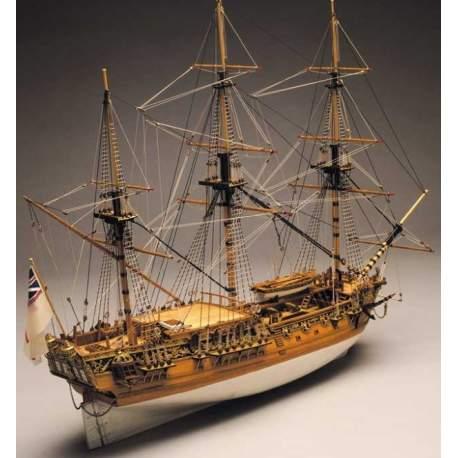 Maqueta Naval Royal Caroline Mantua Model