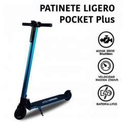 Patinete eléctrico de aluminio SCOOTER Brushless 4.4mah. SABWAY
