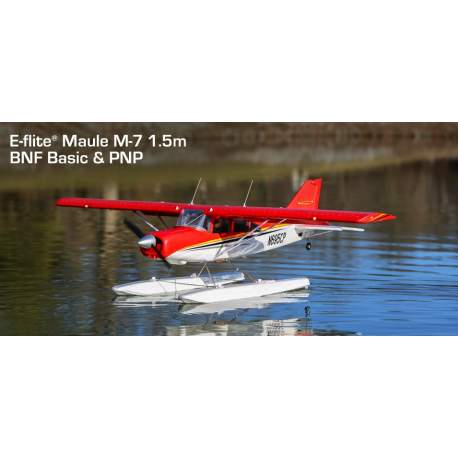 Avion Maule M-7 1.5m BNF Basic with AS3X and SAFE Select