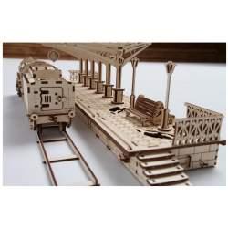 Construccion en madera Estación Europea UGEARS