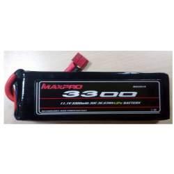 Batería Li-Po 11,1V 3300mAh 30C 3S MAXPRO