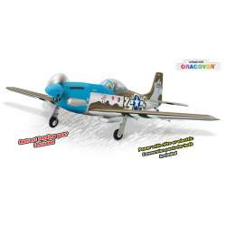 Avion P51 MUSTANG GP/EP Size .91/15CC SCALE 1:7 ¼ ARF Phoenix Model