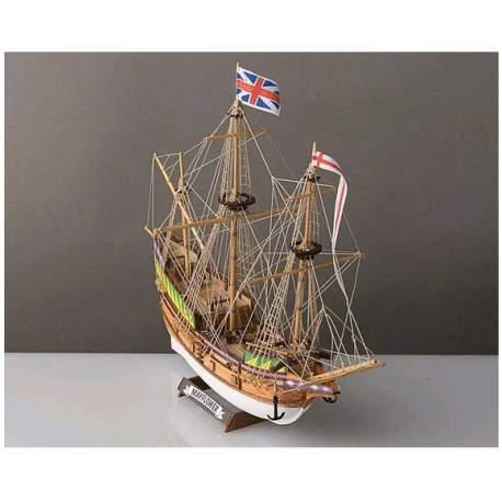 Mini Maqueta Naval Mayflower 1:140 Corel