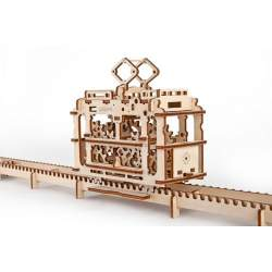 Construccion en madera Tranvía UGEARS