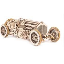 Construccion en madera U-9 Grand Prix Car UGEARS