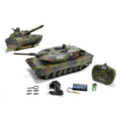 TANQUE 1:16 Leopard 2A5, 2,4 GHz 100% RTR CARSON