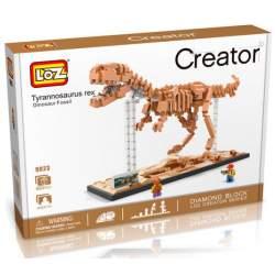 Construcción de bloques Tyranosaurio Rex. LOZ