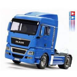 Camion 1:14 MAN TGX 18.540 Franz. Blau TAMIYA